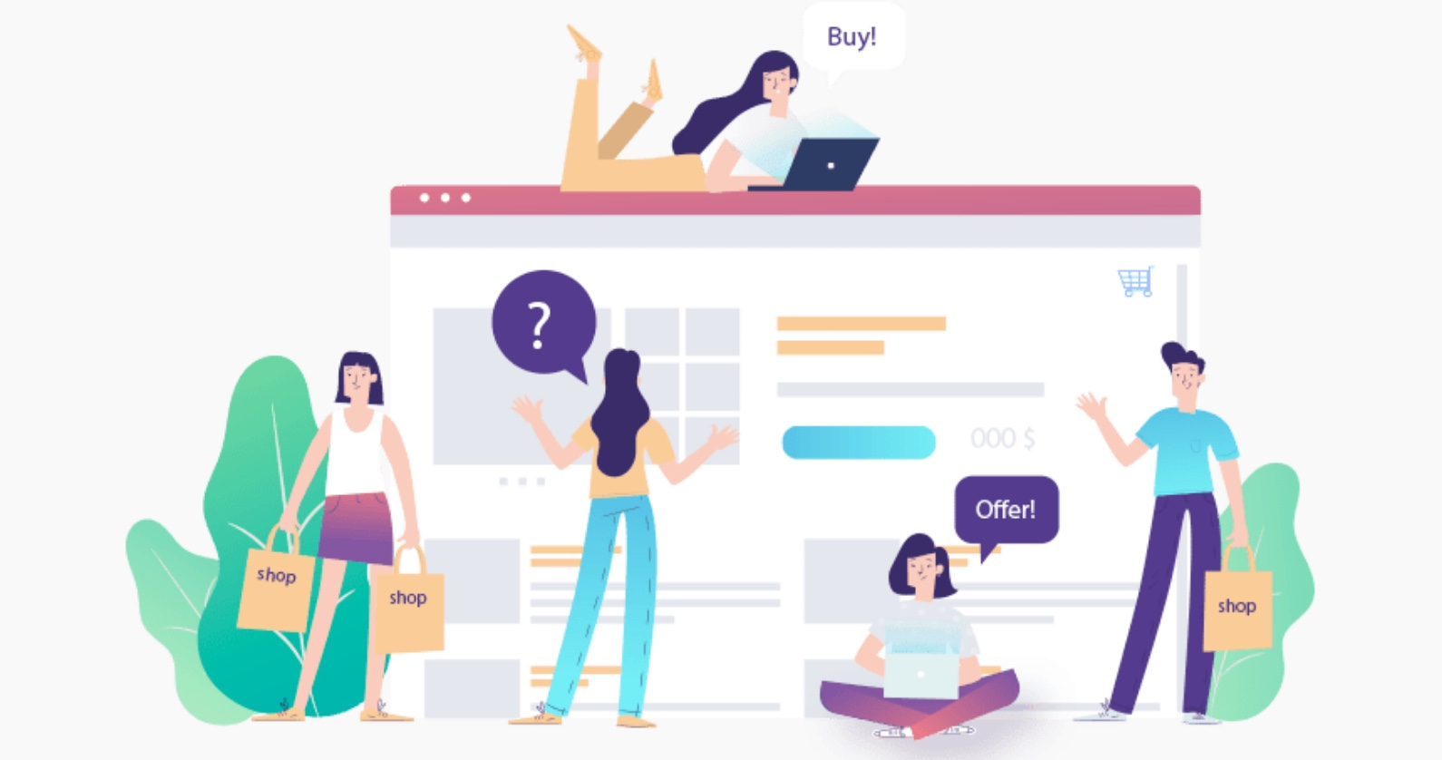 Giải pháp chuyển đổi số: Gói E - Commerce