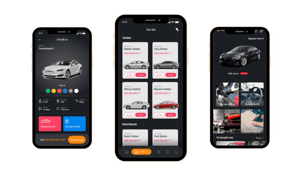 Automotive Mobile App Development