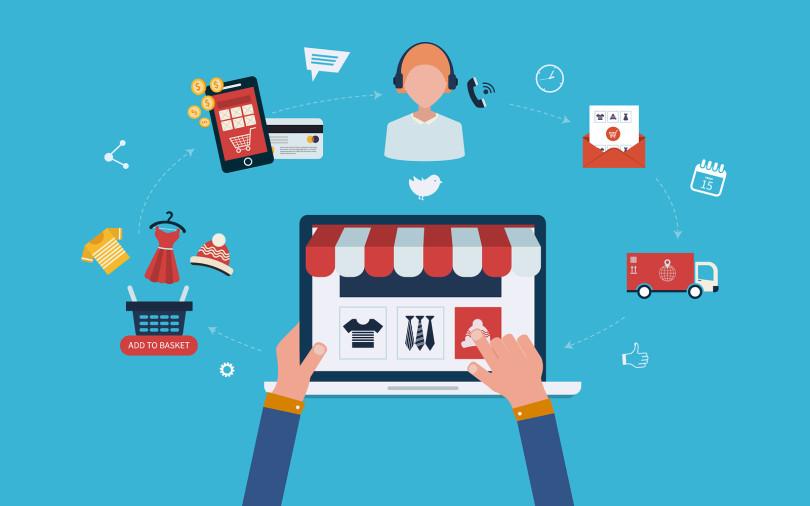 Hệ thống tổ chức thương mại điện tử gồm nhiều lĩnh vực liên kết chặt chẽ với nhau - CodLUCK Technology